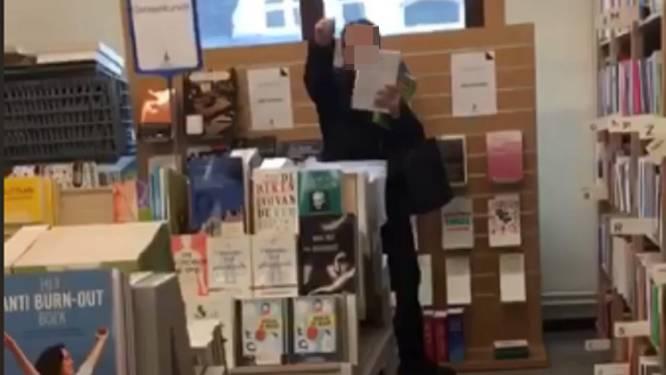 """""""Ik sla dat boek in uw strot."""" Racistische tirade in Leuvense boekenwinkel krijgt staartje in rechtbank, maar beklaagde daagt niet op"""