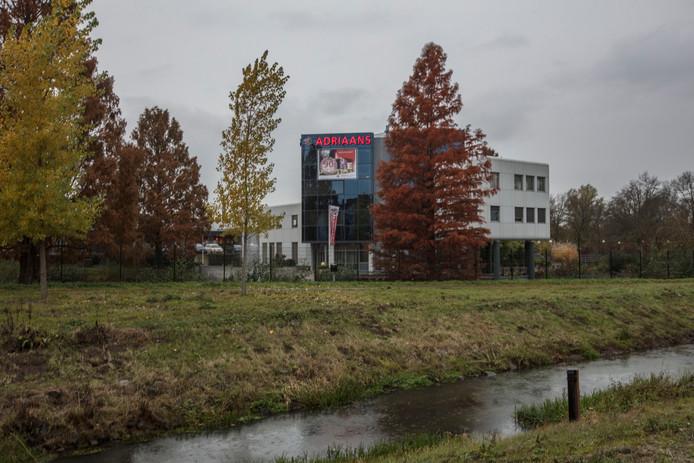 Het pand van Adriaans in Helmond.