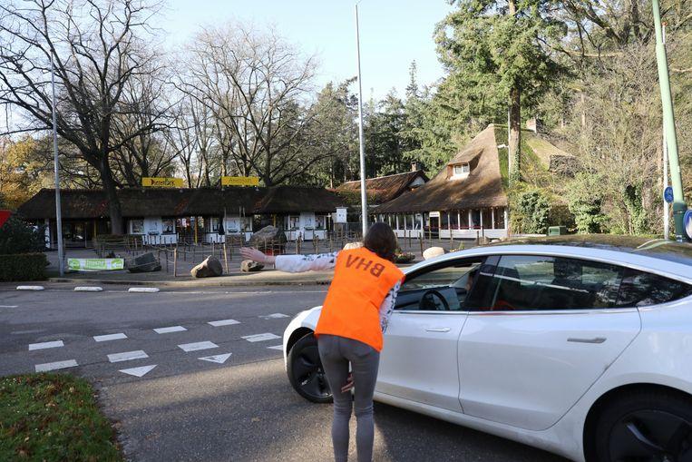 Dierenpark Amersfoort laat geen bezoekers meer binnen. Beeld Caspar Huurdeman