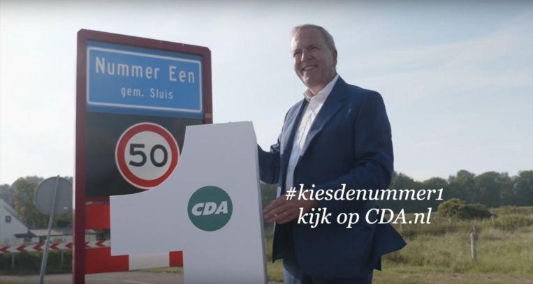 De sollicitatie voor het lijstrekkerschap van het CDA is geopend. Beeld Youtube