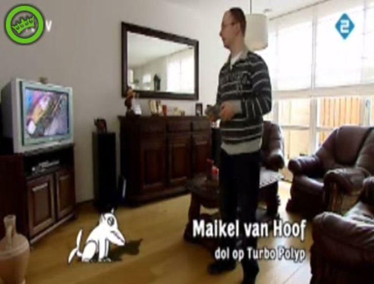 Maikel van Hoof Beeld Screenshot