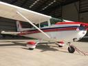 De Cessna van Lion Air uit Rotterdam.