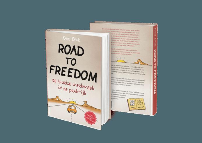 Karel Emck beschreef zijn ervaringen met de 4-urige werkweek in Road to Freedom.