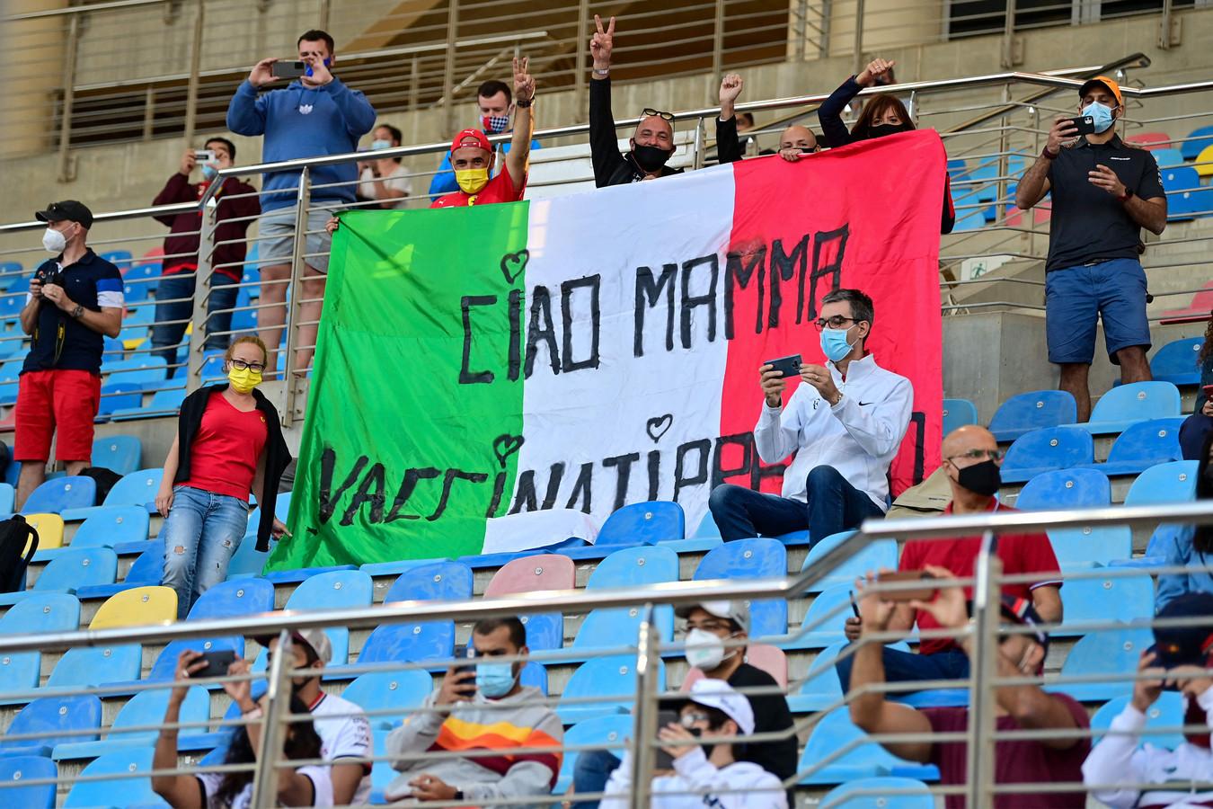 Bij de seizoenopening in Bahrein werden mondjesmaat fans toegelaten.