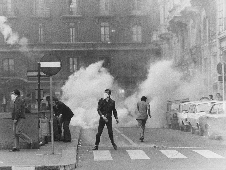 In de jaren zeventig mondde in Italië de emancipatiestrijd van arbeiders en andere goede bedoelde acties uit in bloed, geweld en extremisme. Beeld Getty