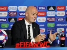 Infantino heeft smaak te pakken en wil vrouwen-WK met 32 landen