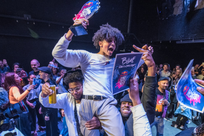 Shinshan is de winnaar van de Nederlandse voorronde van de eerste editie van Red Bull Dance Your Style.