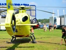 Jongen naar ziekenhuis na ongelukkige val op springkussen bij Prinsenmeer in Ommel