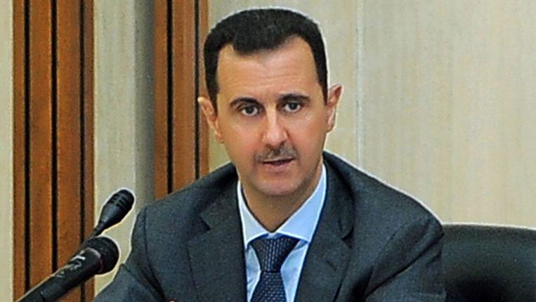 De Syrische president Assad. Beeld EPA