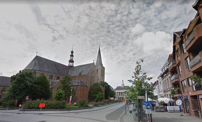 Het centrum van Turnhout