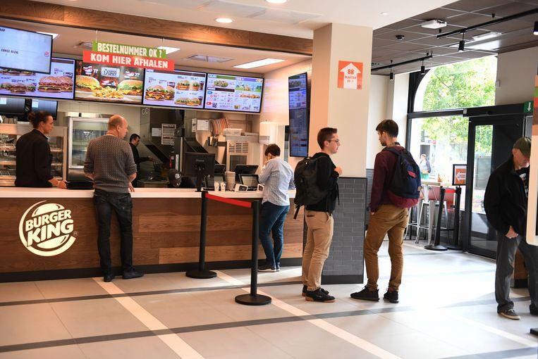 Burger King Leuven.