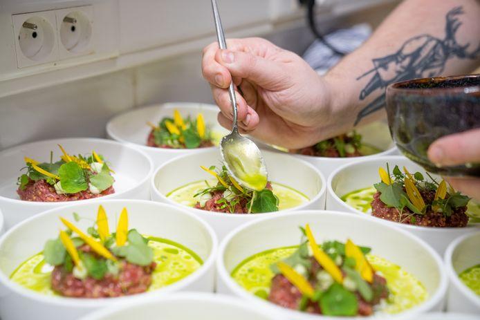 De creaties van de koks van restaurant Casello, te proeven op Proeft Boutique.
