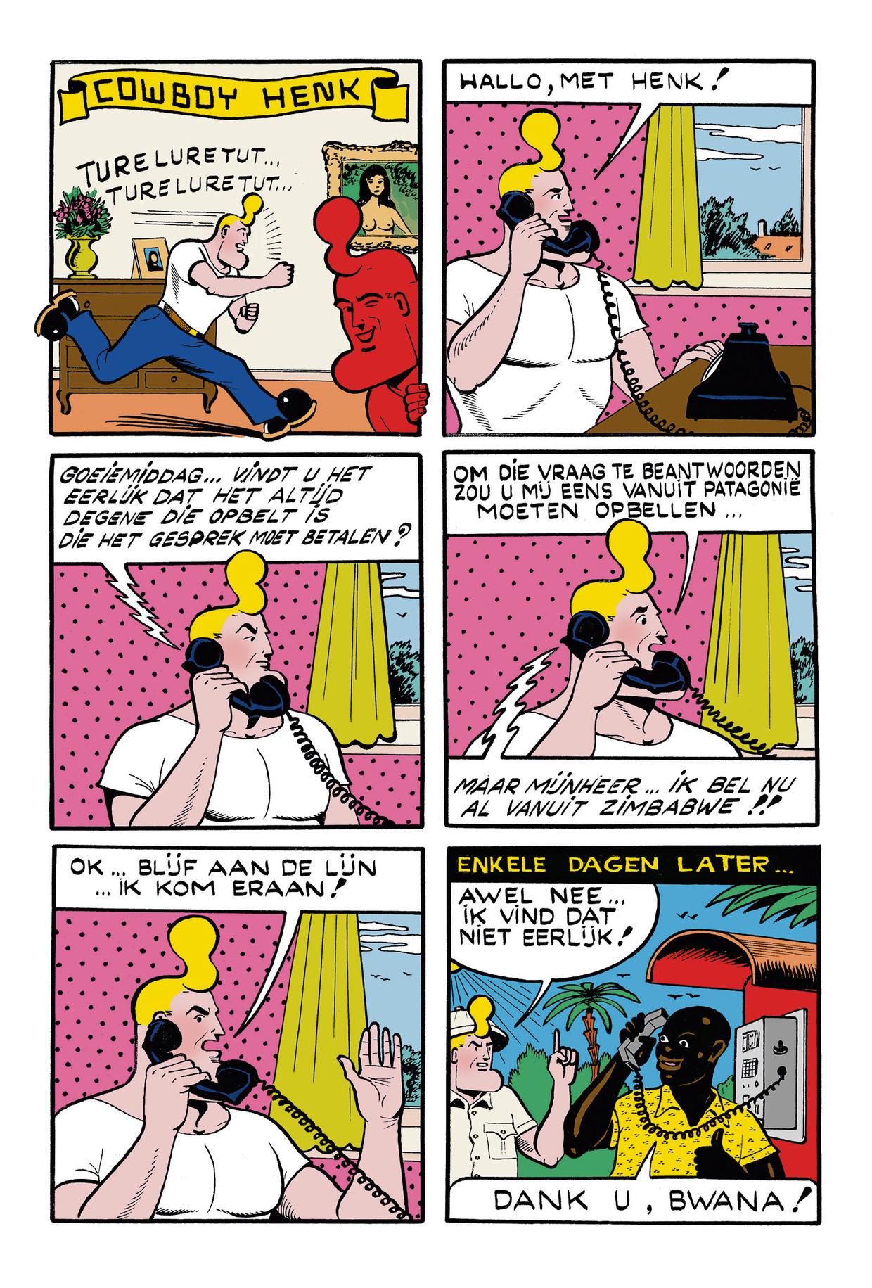 Cowboy Henk 27 Beeld Kamagurka