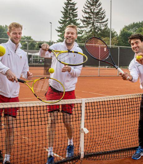 De tennissers van Markant willen winnen, maar niet ten koste van alles
