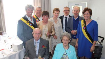 Diamanten liefde Omer en Erna begon ruim 60 jaar geleden op Biezenkermis