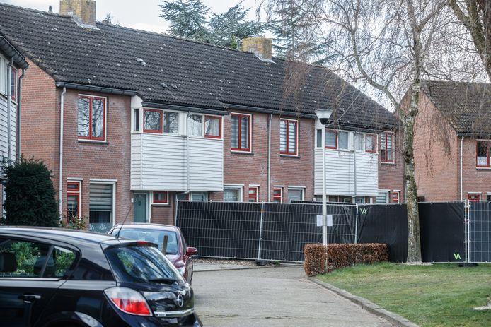 Het gezinsdrama speelde zich af in een woning aan de Dasseburcht in Etten-Leur.