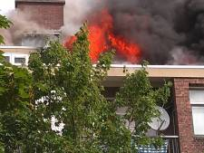 Brand uitgebroken in woning West, sein brand meester gegeven