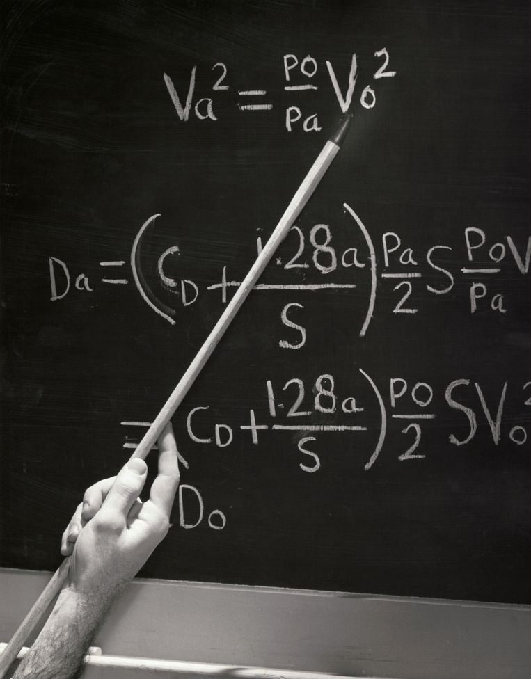 1. Internetcursus: Algebra I. 'Terug in de schoolbanken, maar dan op internet: heerlijk.' Beeld Getty