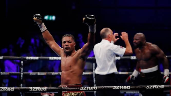 Joe Joyce troeft Carlos Takam af tijdens boksklassieker in Londen