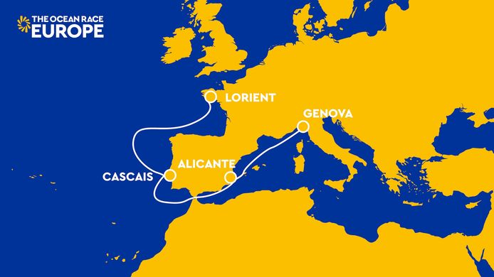 Route The Ocean Race Europe