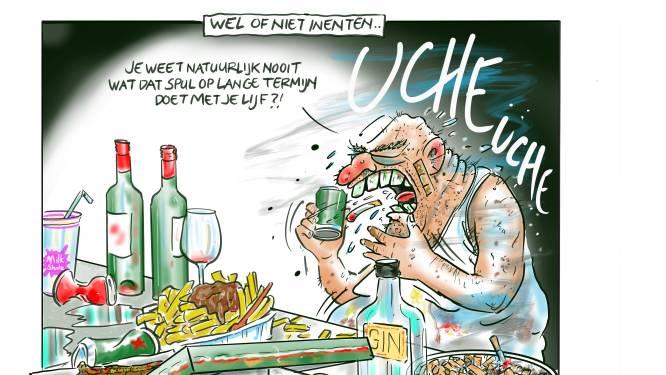 Cor de Jonge geeft corona-cartoons weg na expositie