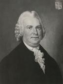 Mr. Antoni Martini, de eerste censor van de Bossche krant. Had die aanmerkingen, dan waren de uitgevers verplicht zijn correcties te volgen.