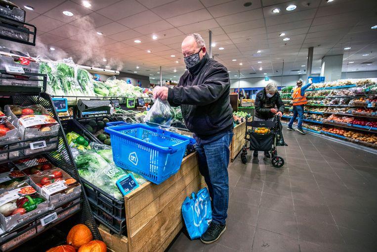 Het Nederlandse marktaandeel van Albert Heijn steeg in 2020 naar 35 procent. Beeld Raymond Rutting / de Volkskrant