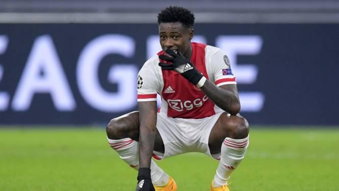 Ajax-spits Quincy Promes alweer vrijgelaten, maar blijft wel verdachte in zaak over steekpartij, Ajax laat hem voorlopig uit selectie