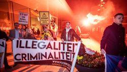 Vlaams Belang en Voorpost voeren actie tegen verhoging van asielzoekers in Lommel