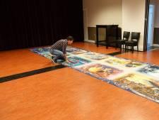 Oeke (50) maakt reuzenpuzzel van 40.000 stukjes: 'Twee jaar over gedaan'