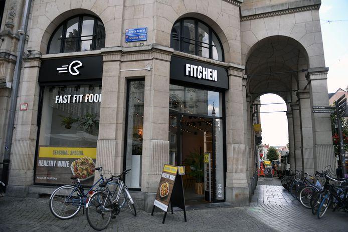 Fitchen komt naar Kortrijk. Hier zie je een beeld van de vestiging in Leuven.