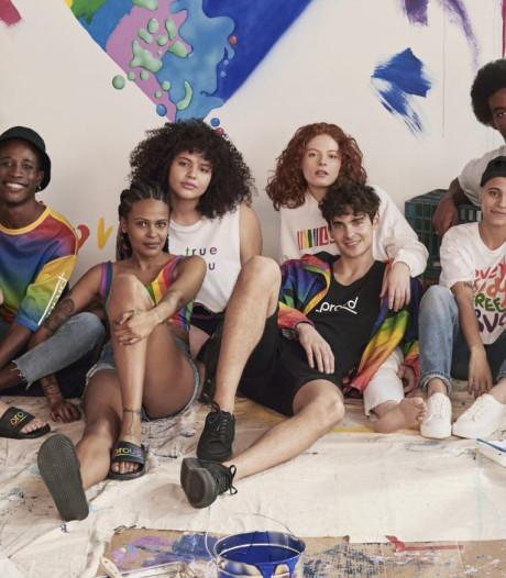 Alleen Utrecht krijgt regenboog-collectie van H&M