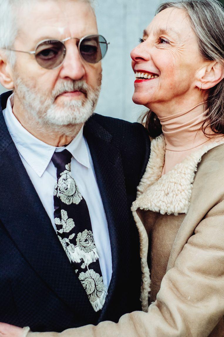 Jan Decorte en Sigrid Vinks. Beeld Stefaan Temmerman