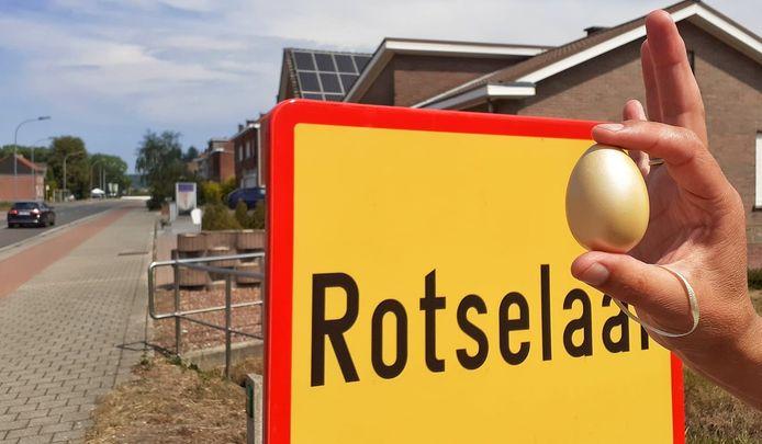 Ook in Rotselaar kon je al op zoek gaan naar Het Gouden Ei.