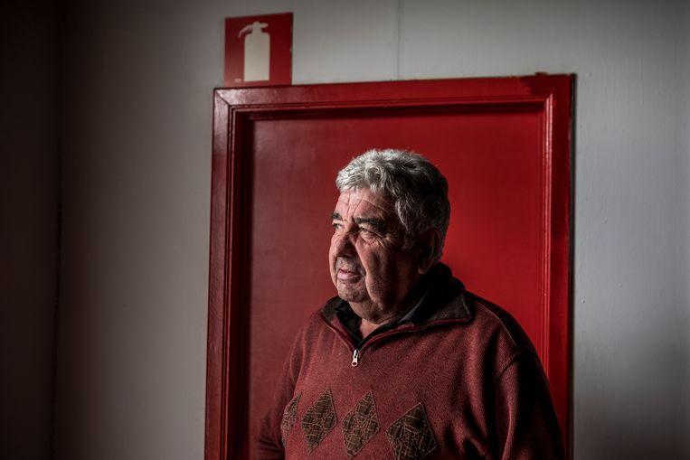 Fons Van der Berckt, vrijwilliger bij de Royal Antwerp Football Club. Beeld Diego Franssens