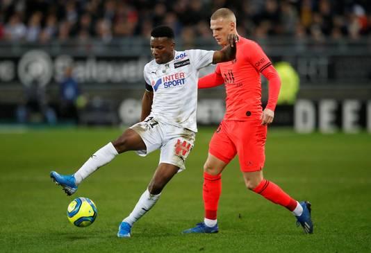Bakker in duel met Amiens.