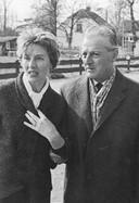 De grootouders van Michal Citroen, Hartog Citroen (r) en Lidi Citroen-Kraus.