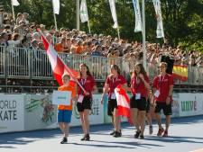 Volle bak in Heerde bij WK inline-skaten