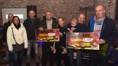 Strandbalfeesten steunen Lio met mooie cheque