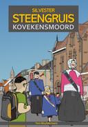 De cover van de strip beeldt de traditionele reuzenstoet van Koveken uit.