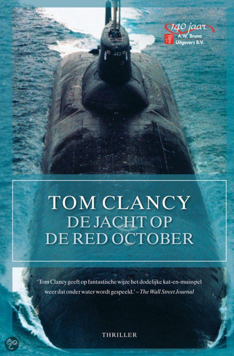 Boekcover De jacht op de Red October Beeld A.W. Bruma