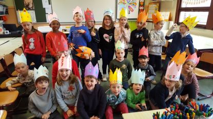 Kinderen eerste leerjaar kennen alle letters: tijd voor feestje in De Regenboog Ertvelde