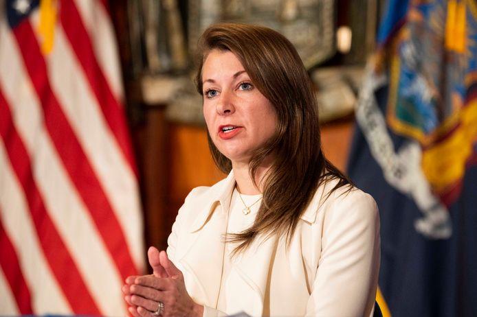 Melissa DeRosa, de hoogste medewerker van Cuomo, heeft zondag lokale tijd wél ontslag genomen.
