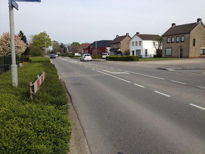 De Wordenseweg in Velddriel.