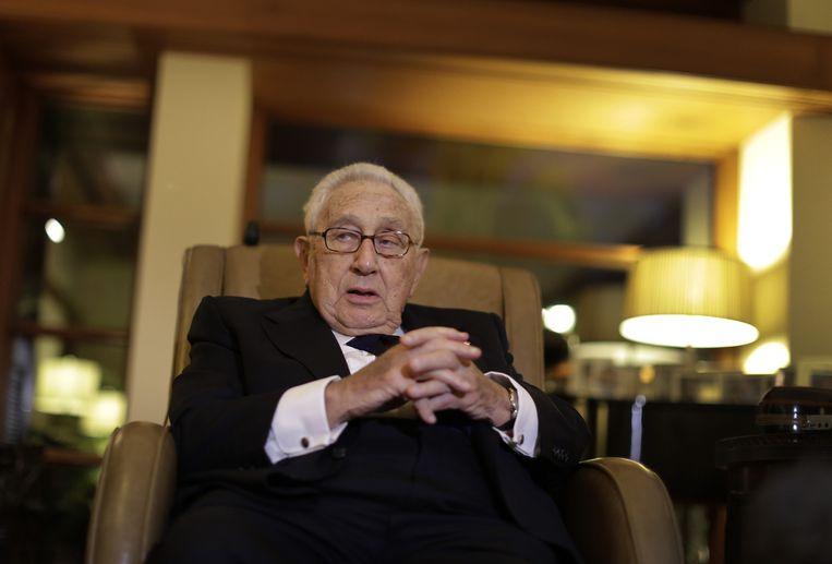 Henry Kissinger. Beeld AP