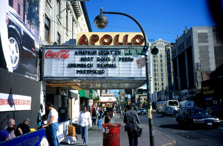 Het Apollo theater in Harlem. Beeld Getty