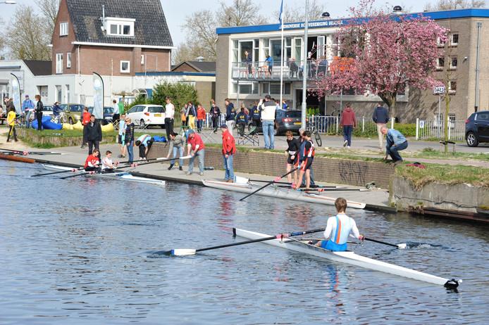 Roeivereniging Beatrix uit Eindhoven houdt open dag.