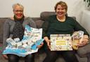 Wendy van der Hoek-Slinger (47) uit Almere spaarde eerst voor haar zoontje en helpt nu andere mensen. 'We hebben zevenduizend moestuintjes opgehaald voor het goede doel.'