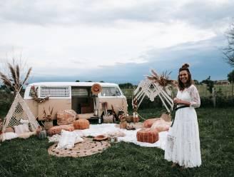 Desselse fotografe bouwt unieke outdoor fotoshoot in Retiese velden