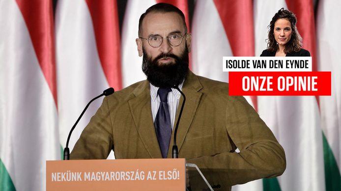 Oud-Europarlementslid József Szájer.
